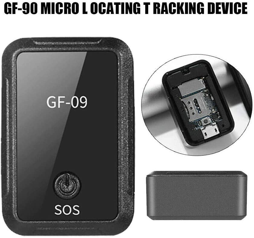 zhouchuanchuan Small Gps Tracker,With strong magnetic force,Query history Elderly Wallet GSM GPS Real Time Outdoor Anti Lost GPS Tracker Locator With App for IOS and Android