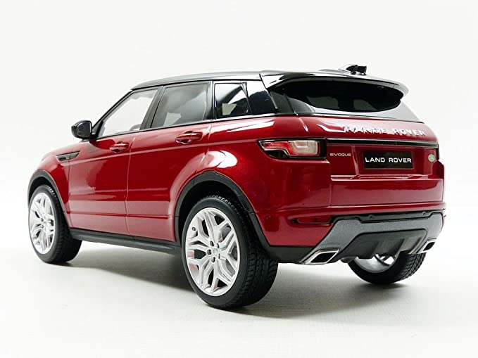 Ousia KY9549R - Escala 1:18 Kyosho Range Rover Evoque HSE Dynamic Lux Die Cast Model, Firenze Red: Amazon.es: Juguetes y juegos