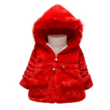 89ca58c83 Internet Baby Girls Kids Outwear Clothes Winter Jacket Coat Snowsuit ...