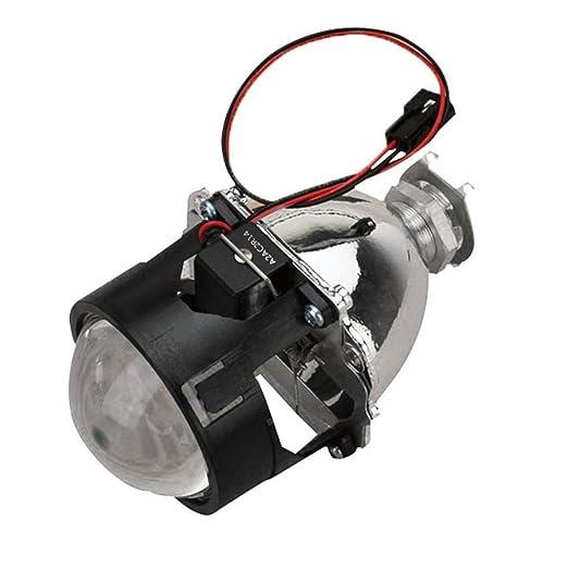 2,5 pulgadas Xenon Bi-xenón HID Claro lente del proyector Sábana ...