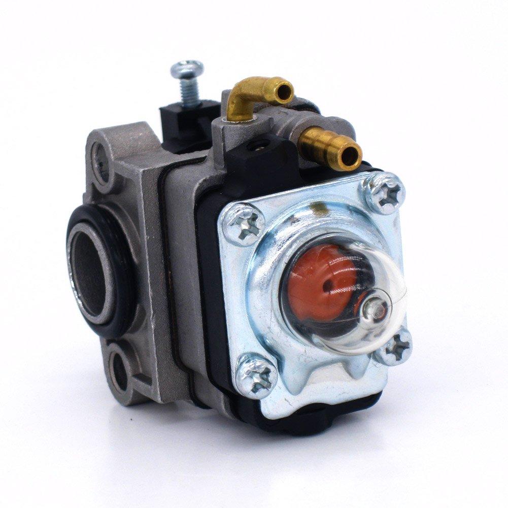 FitBest New Carburetor 753-05251 with Fuel Line Kit for WYL-19 WYL-19-1 WYL-229 WYL-229-1 Troy-Bilt TB575SS TB590BC TB146EC Yard Man YM21SS YM26SS YM26BC YM26CS GasTrimmer
