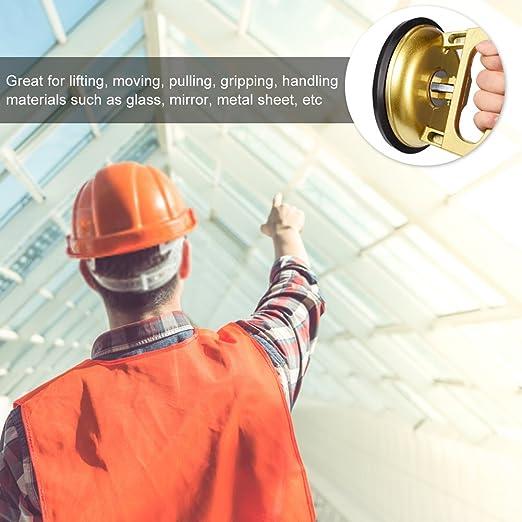 Herramientas de Desmontaje de Pantalla Reparación de Cristal LCD Ventosas para Tareas Pesadas Ventosa Sola Placa Profesional Golden
