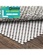 Cosyland Non Slip Rug Pad 4PC Rug Grippers Included Strong Carpet Pad for Hard Floors Provide Protection and Cushion for Area Rugs Hardwood Floors