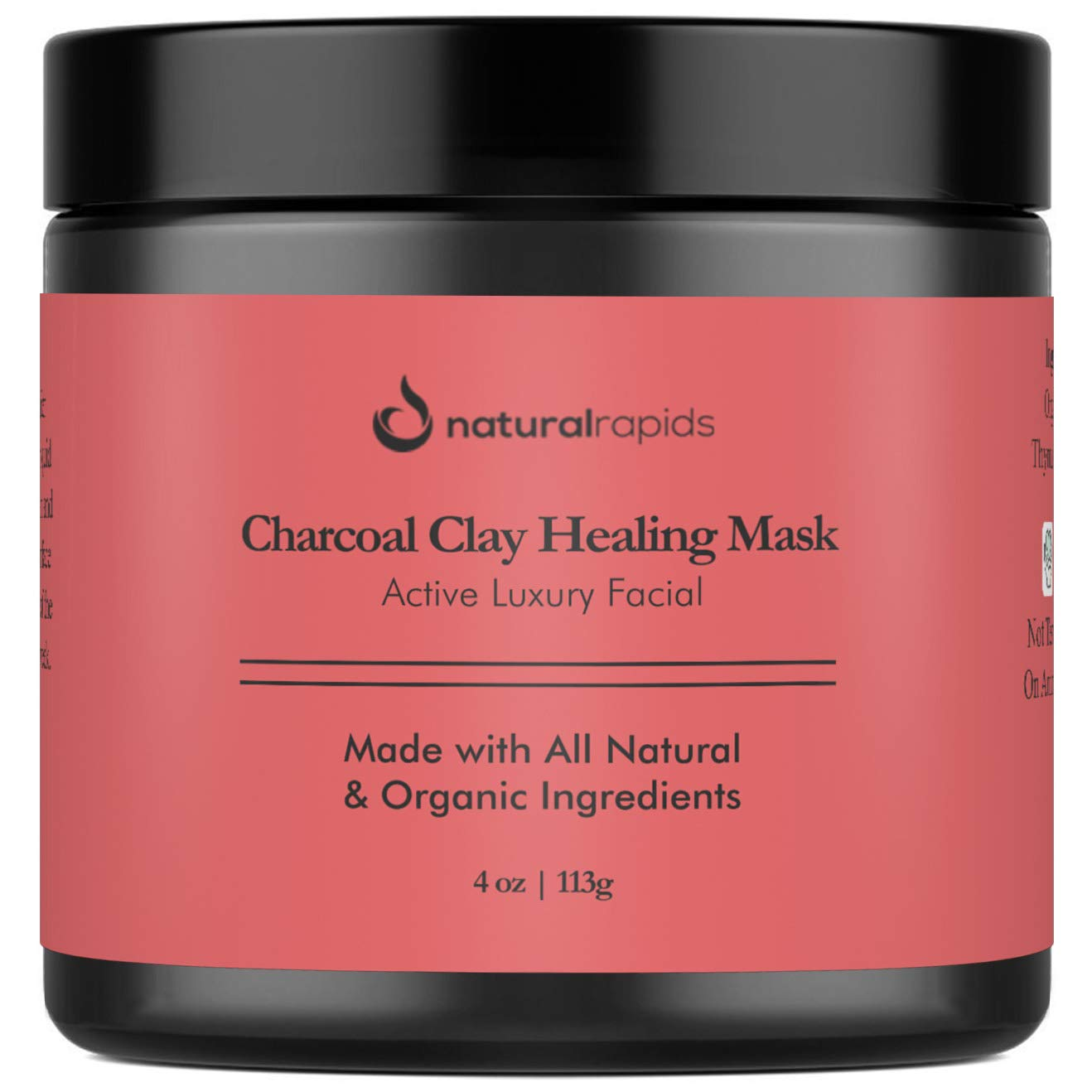 Amazon Com Indian Healing Clay With Charcoal Face Mask Best