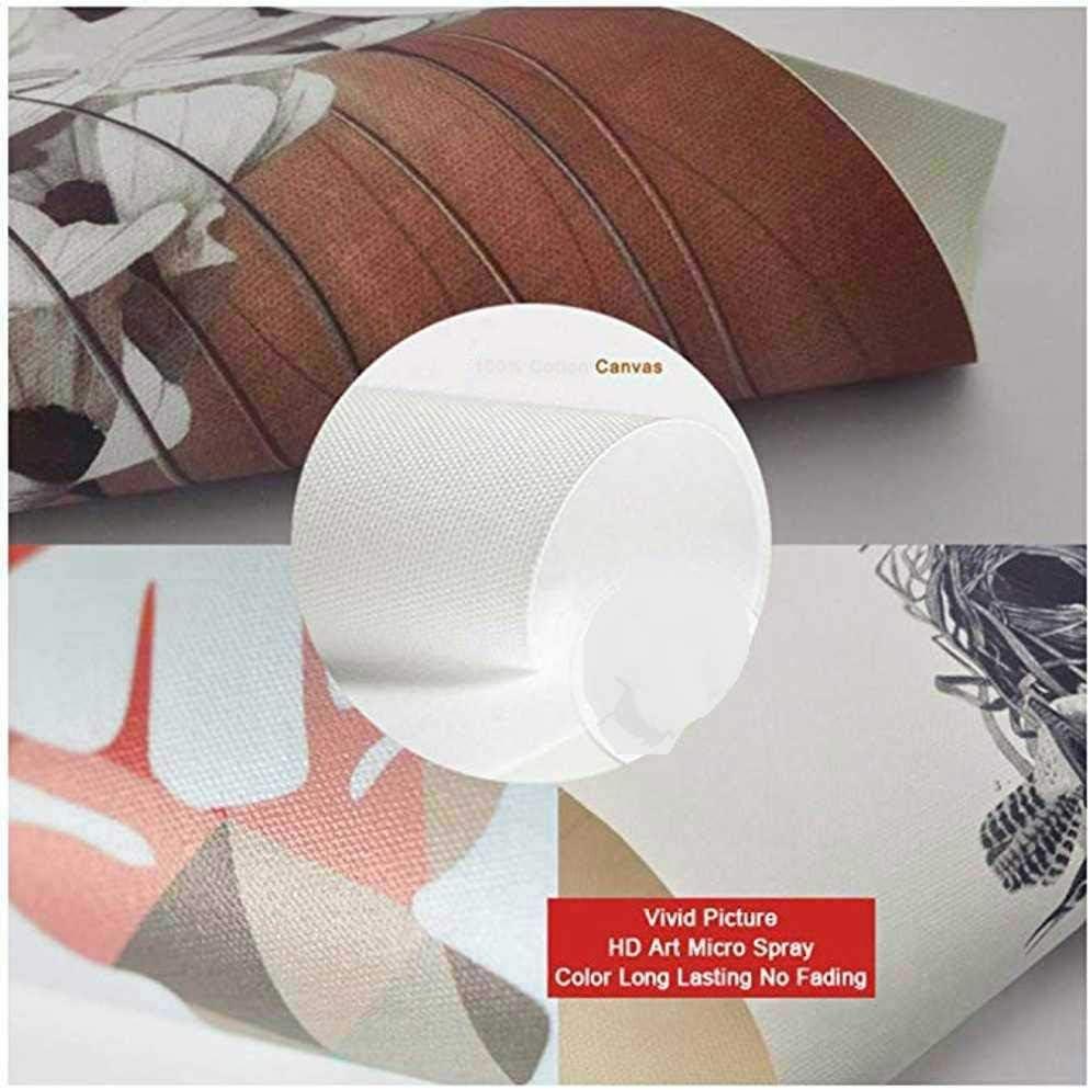 ZYHBB Impresiones de la Lona Pintura Abstracta Cuadr/ícula Cuadros Mondrian Arte Moderno de la Pared para la Sala Cuadros Decoraci/ón sin Marco