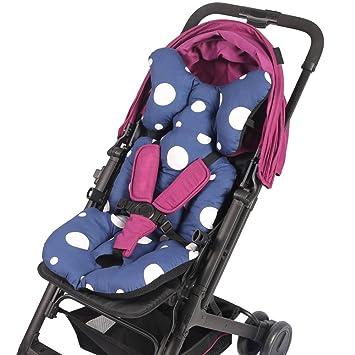 Kinderwagensitzkissen Kinderwagenkissen weiche Sitzauflage Kinderwagenkissen mit atmungsaktiver Baumwolleinlage Kinderwagenkissen