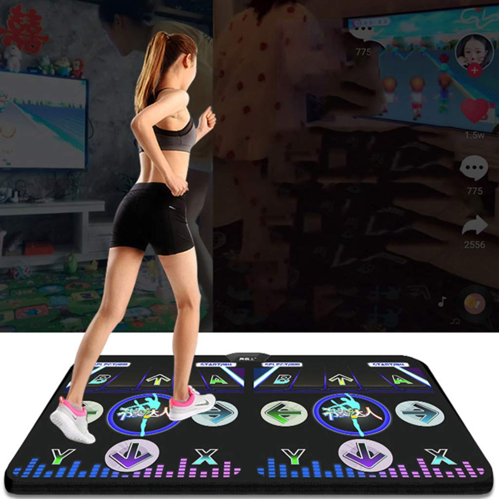 Wireless Children Dance Pad,Fitness Lose Weight Dance Pad Game Dancing Play Mat Hd Tv Computer Dual-c 166x93cm(65x37inch) by WEWE (Image #2)