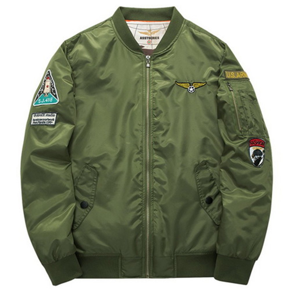 Male And Female Bomber Jackets Air Force Military Men's Trench Cots Baseball Jackets bomberes