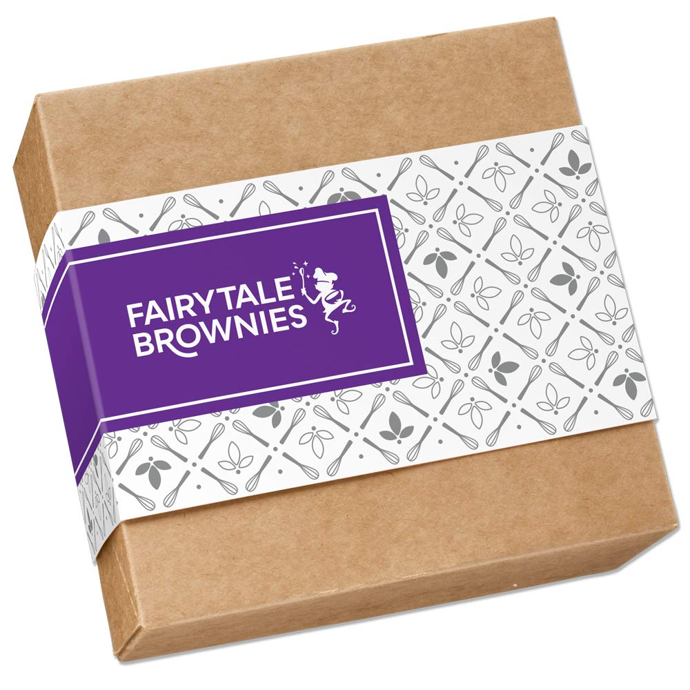 Fairytale Brownies Sprite 36 Gourmet Chocolate Food Gift Basket - 3 Inch x 1.5 Inch Snack-Size Brownies - 36 Pieces - Item CF236 by Fairytale Brownies (Image #2)