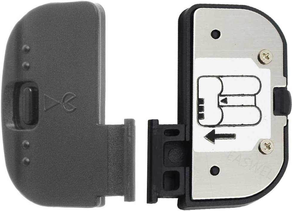 Dromirow Battery Door Cover Cap Lid Chamber Replacement for Repair Nikon D7200 D7100 D7500 DSLR Digital Camera