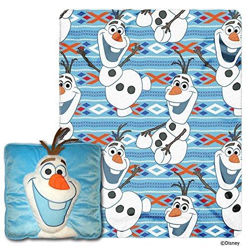 Disney Olaf Plush Pillow and Throw