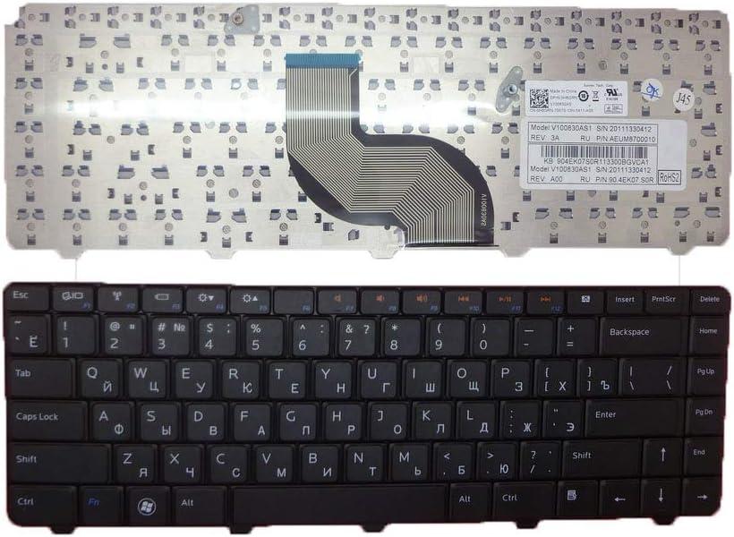 Laptop Keyboard for DELL Inspiron 13 N3010 14 M4010 N4020 N4030 14R N4010 15 N5030 M5030 RU Russian 0H8GRN H8GRN AEUM8700010 90.4EK07.S0R V100830AS1 New and Original