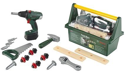 Amazon.com: Bosch caja de herramientas: Toys & Games