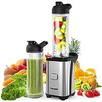 Standmixer Smoothie Maker, homgeek 2000W Smoothie Blender, Schleifer und Eis-Zerkleinerungsmaschine, 30.000 U/min, 2L Tritan-Behälter ohne BPA