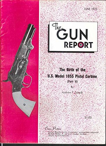 Pocket Percussion - GUN REPORT 1855 Pistol Carbine Bacon 2nd Model Percussion Pocket Revolver 6 1975