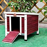 Petsfit 41cm Lx51cm Wx43cm H pet cage, rabbit hutch,outdoor cat shelter