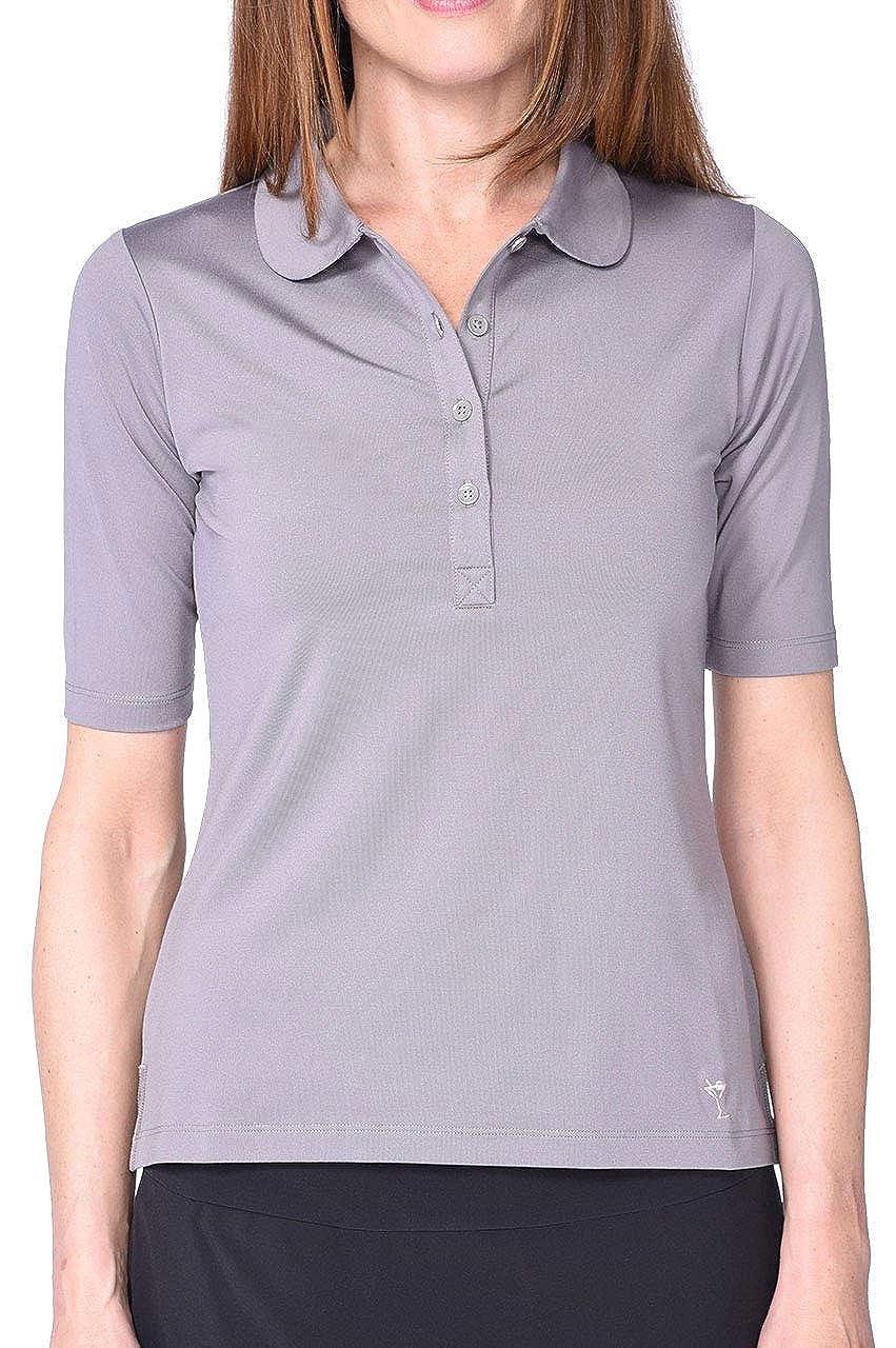 Grey Elbow Fashion Tech Top
