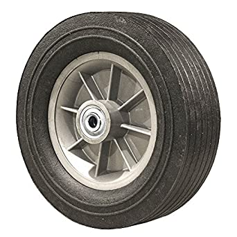 """8/"""" INCH REPLACEMENT SOLID HARD RUBBER TIRE WHEEL AND RIM FOR DOLLY HAND CART"""