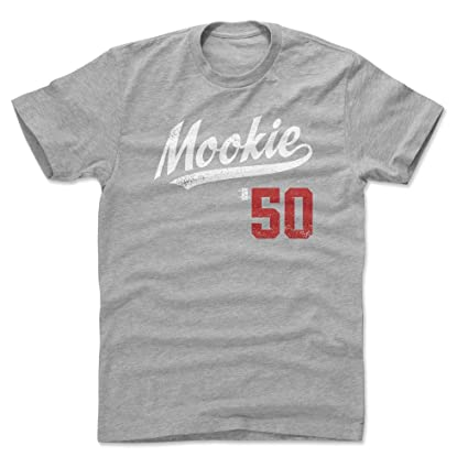 a12e1dc37 500 LEVEL Mookie Betts Cotton Shirt Small Heather Gray - Boston Baseball  Men's Apparel - Mookie