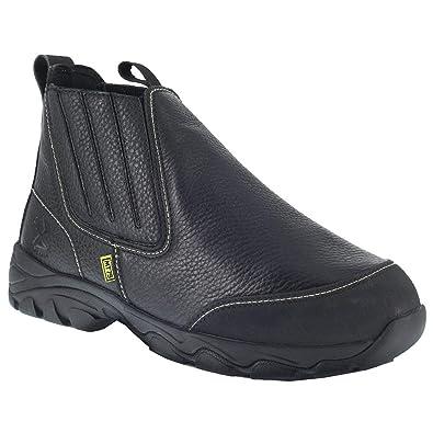 3d7501c23b0 Iron Age Mens Galvanizer Slip On Work/Duty Boots Boots