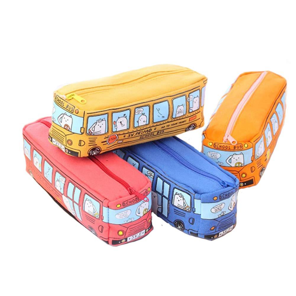 mi ji 1 en forma de Creative Pack autobús caja de lápiz de ...