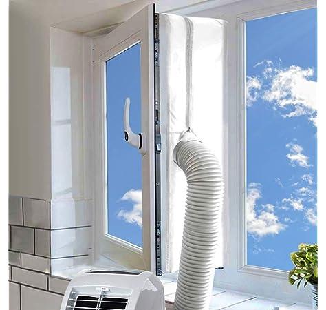 SPARES2GO Barato Aire acondicionado Manguera Tubo PVC Conducto Extensión Equipo (6m, 5 Pulgadas): Amazon.es: Hogar