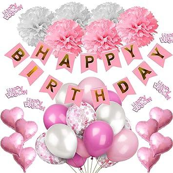 iZoeL Decoración cumpleaños Party Fiesta de Happy Birthday ...