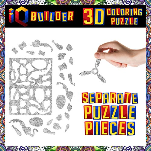 Iq Builder Fun Creative Diy Arts And Crafts Kit Best Toy Gift