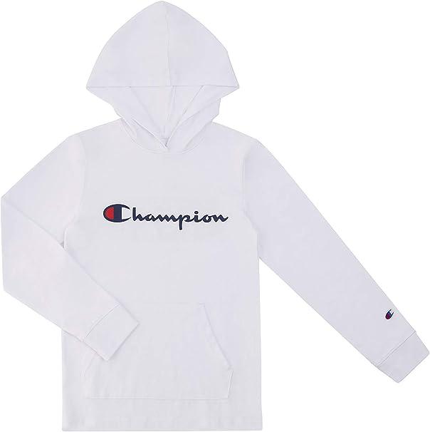 Champion Long Sleeve Hooded Tee
