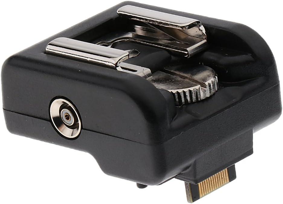 Black Metal Hot Shoe Flash Stand Adapter Mount for Sony NEX-C3 NEX-5N