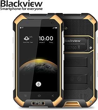 Blackview Bv6000 barato Smartphone, IP68 resistente al agua de teléfono móvil, mtk6755 Octa Core Rui Frecuencia,