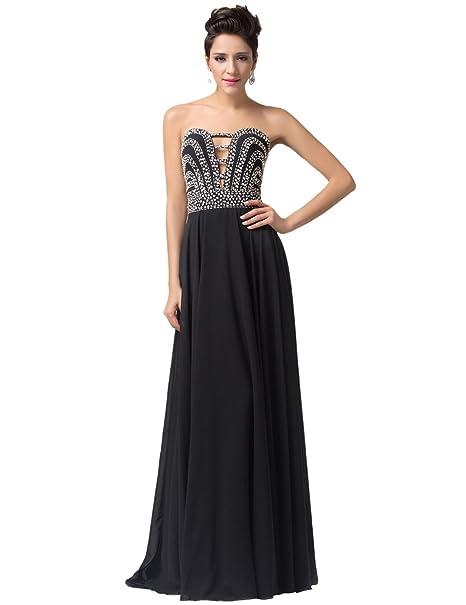 Quissmoda vestido corto largo fiesta, noche, gala, talla 34, color negro