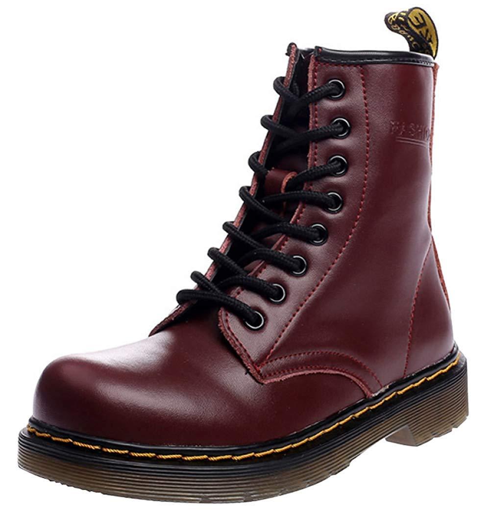 Männer Und Frauen Knöchel Martin Stiefel Warm Plus Baumwolle Schneeschuhe Liebhaber Schuhe (Farbe   12, Größe   35EU)