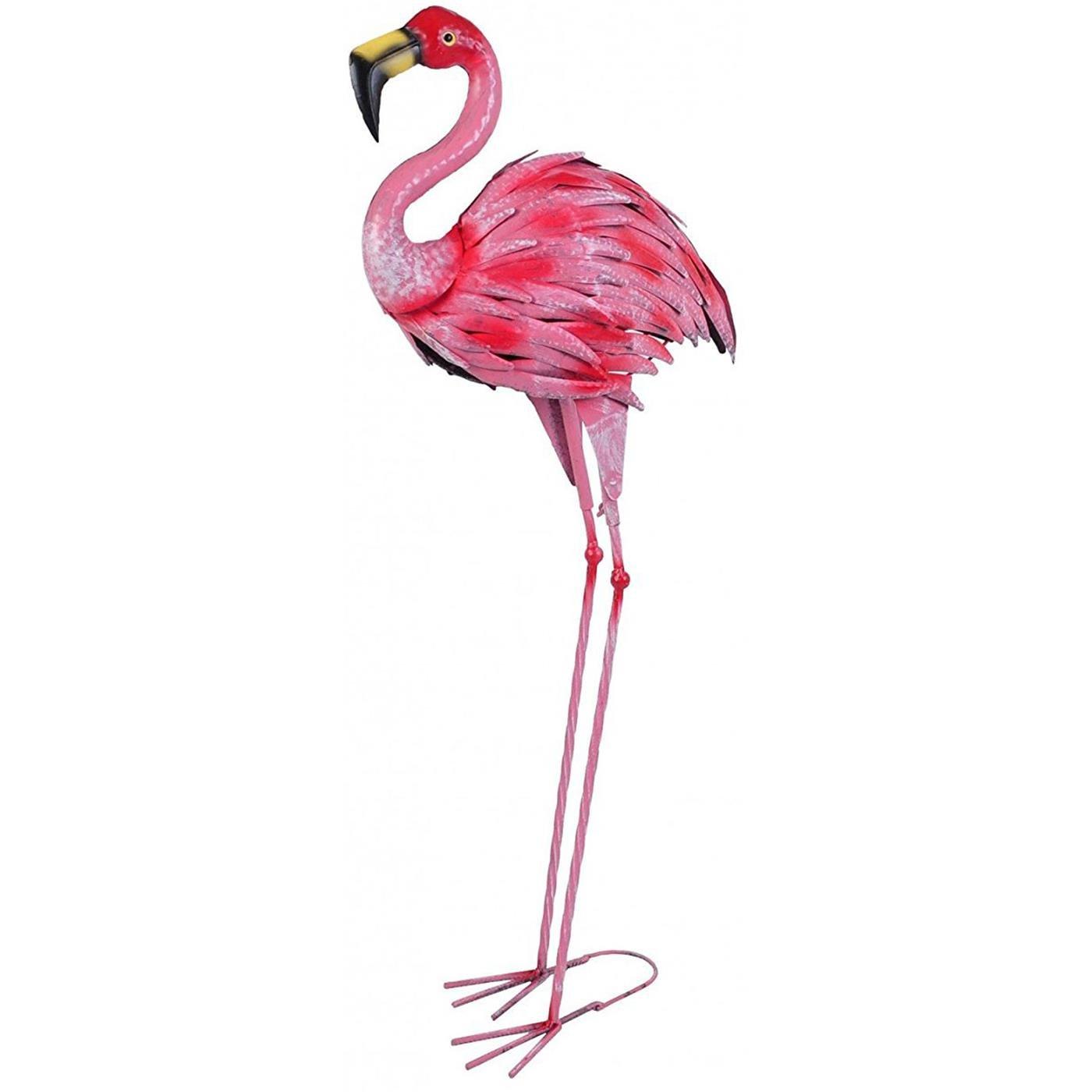 Gartenstecker Flamingo Gartendeko Teichdeko