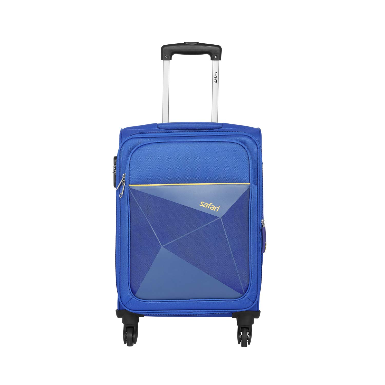 Safari Polyester 65 cms Blue Softsided Check-in Luggage