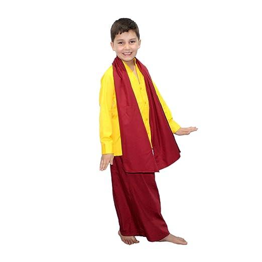 Amazon.com: Kaku Fancy Dresses - Disfraz de Buda para niños ...