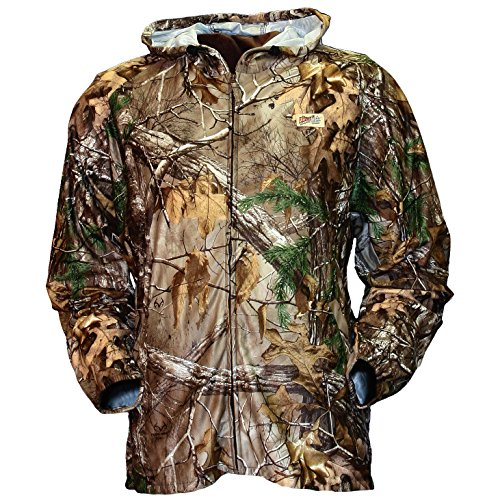 Gamehide Elimitick Cover Up Tick Jacket, Realtree Xtra, Large