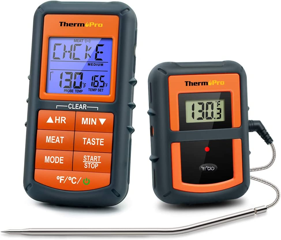 Most affordable wireless meat thermometer: ThermoPro TP-07