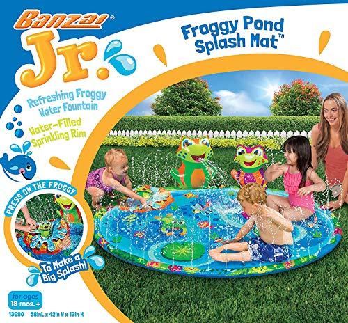 (BANZAI 13690 Froggy Pond Splash Mat)