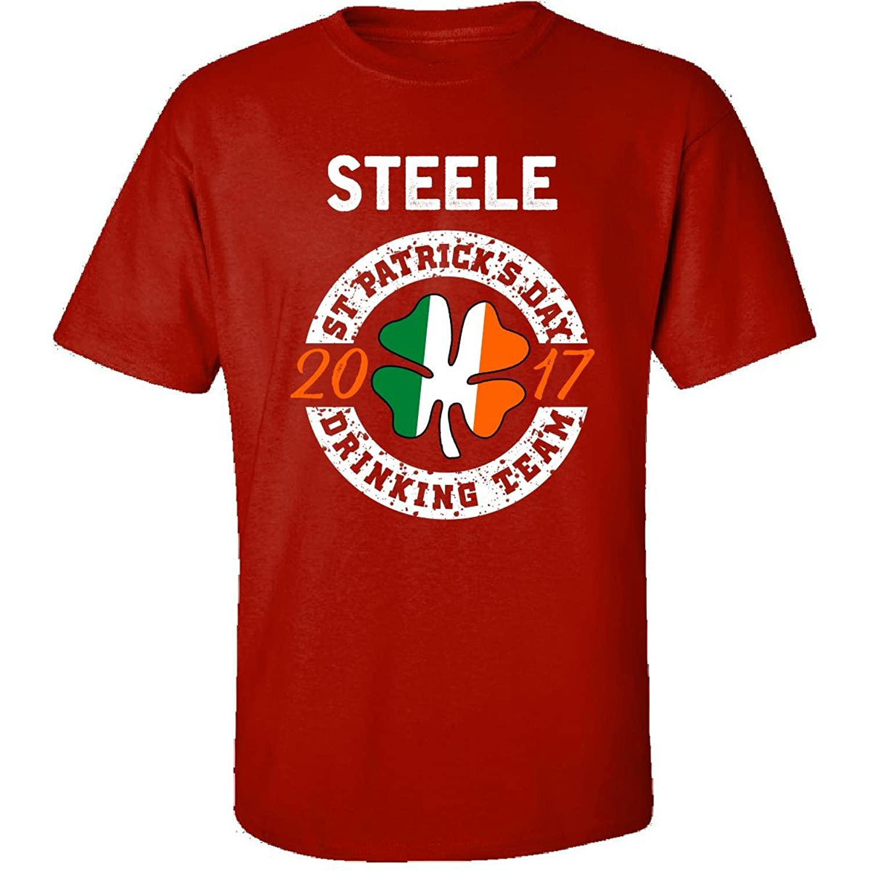 Steele St Patricks Day 2017 Drinking Team Irish - Adult Shirt