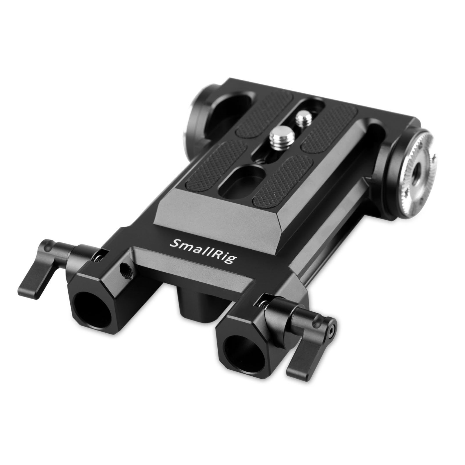 SMALLRIG Baseplate Bottom Plate for Sony FS5 / Panasonic EVA1 with Two Rosettes on Both Sides - 1827