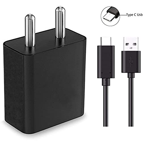 SUPPLE 2A Charger Adapter with 1 m type C USB Output for Nokia 6 2018 Mobile Phone Wall Chargers