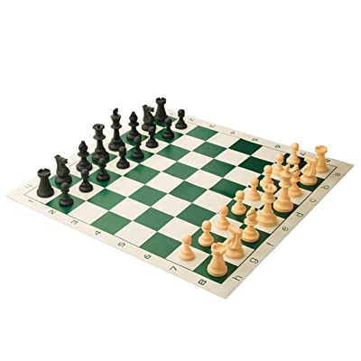 S&S Worldwide Tournament Style Chess Set: Sports & Outdoors