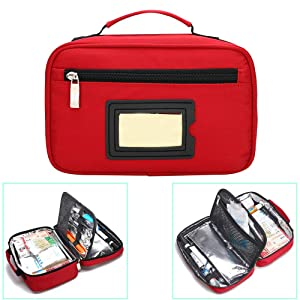 Portable Insulin Cooler Bag Travel Case Waterproof Medical Diabetic Organizer Medication Insulated Cooling Bag