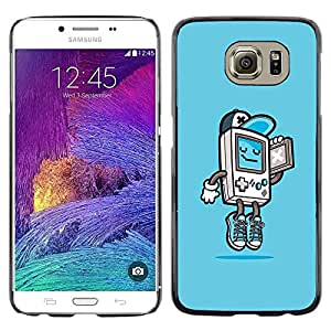 Impact Case Cover with Art Pattern Designs FOR Samsung Galaxy S6 Gaming Console Gamer Boy Cool Kid Betty shop
