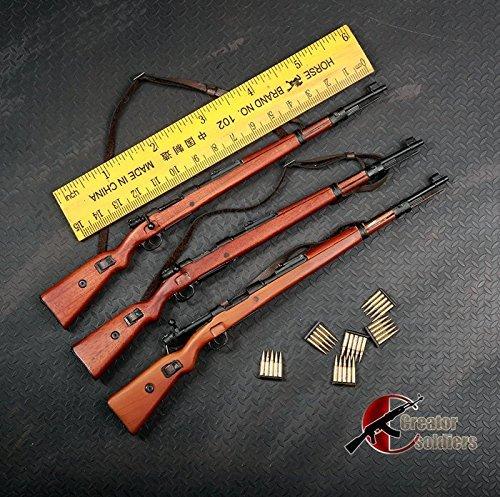"""1/6 Figure Weapon 98K 12"""" Action Figure Arms Kar.98 Model 1:6 WW II German Rifle Model Figure Accessories"""