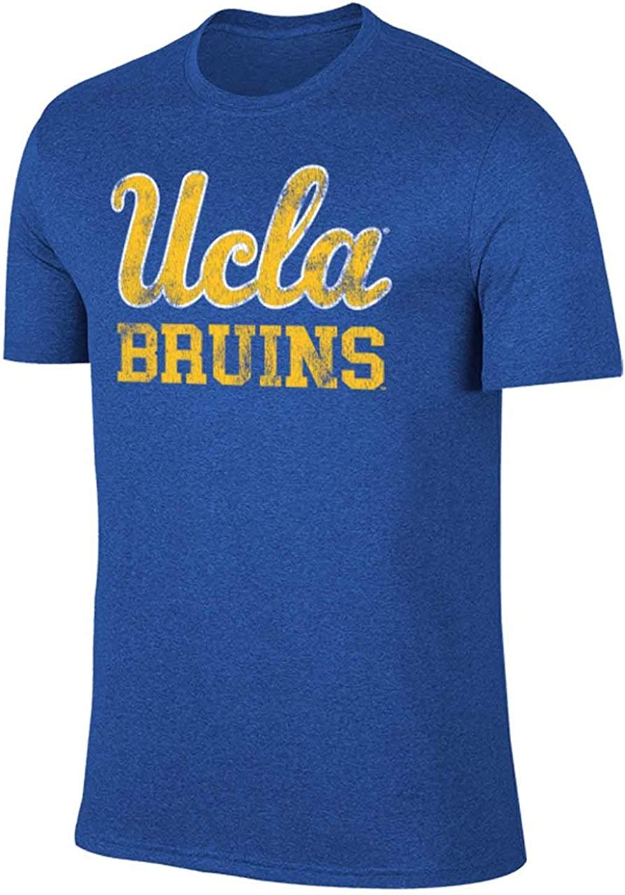 Campus Colors NCAA Adult MVP Heathered Logo T-Shirt