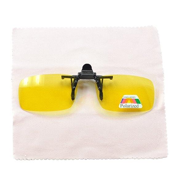 Gafas de conducción nocturna con clip /protección UV para conducción durante el día / reducen