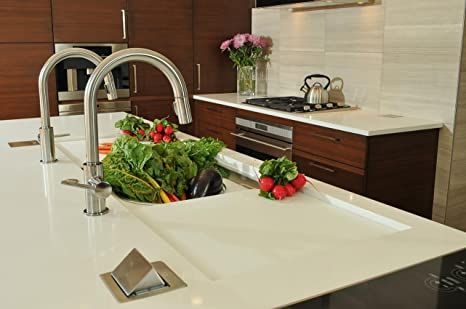 Lew Electric PUFP CT SS Countertop Box, Pop Up W/20A GFI Receptacle    Stainless Steel     Amazon.com