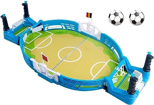 Aegilmctoys Mini Juego De Fútbol De Mesa De Escritorio con 2 Balones De Fútbol, Fútbol De Mesa Pizarra Interactiva Tableros Niños De Juguete Juguetes Educativos Juguetes Familiares: Amazon.es: Hogar